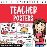 Teacher Appreciation Posters