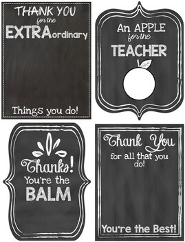 image about Teacher Appreciation Tags Printable named Instructor Appreciation Printable Present Tags
