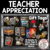 Teacher Appreciation Printable Gift Tags