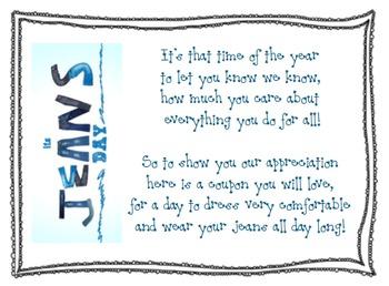 Teacher Appreciation Printouts