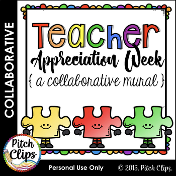 Teacher Appreciation Week Puzzle Piece