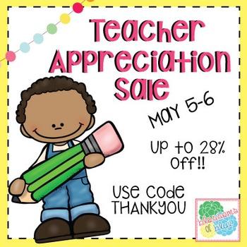 Teacher Appreciation Sale Banner