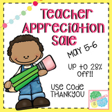 Teacher Appreciation Sale Banner
