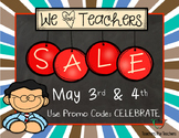 Teacher Appreciation Sale Button
