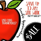 Teacher Appreciation Sale Image FREEBIE
