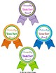 Teacher Appreciation Staff Awards and  Thank You Tags