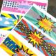 Teacher Appreciation Superhero Theme: Invitation and Wrapper Labels