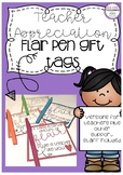 Teacher Appreciation & Support Staff Gift Tags - Flair Pens