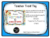 Teacher Appreciation Tag - Bag of Chips