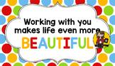 Teacher Appreciation Tag | Beautiful Life