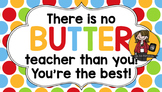 Teacher Appreciation Tag   Butter