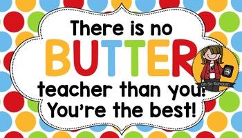 Teacher Appreciation Tag | Butter
