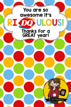 Teacher Appreciation Tag | DQ