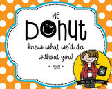 Teacher Appreciation Tag | Donut