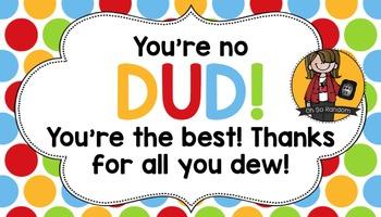 Teacher Appreciation Tag | Dud