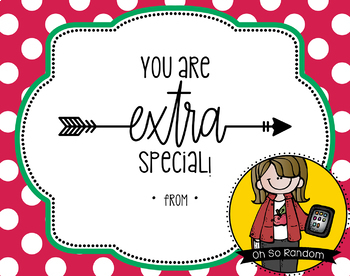 Teacher Appreciation Tag | Extra