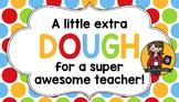Teacher Appreciation Tag | Extra Dough