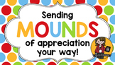 Teacher Appreciation Tag   Mounds