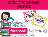 Teacher Appreciation Tag | Mini Bundle