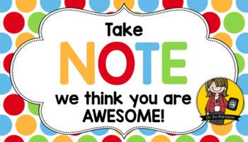 Teacher Appreciation Tag | Note 2