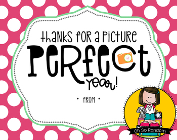 Teacher Appreciation Tag | Perfect