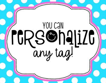 Teacher Appreciation Tag | Personalized Tag