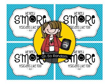 Teacher Appreciation Tag | S'more