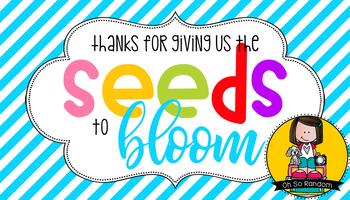 Teacher Appreciation Tag | Seeds