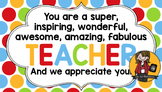 Teacher Appreciation Tag   Teacher