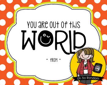 Teacher Appreciation Tag | World