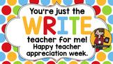 Teacher Appreciation Tag | Write