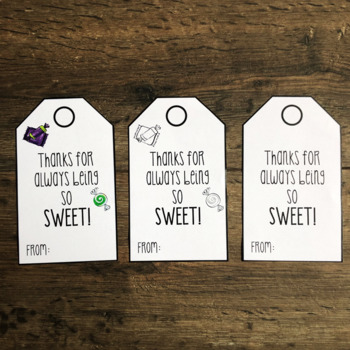 Teacher Appreciation Tags