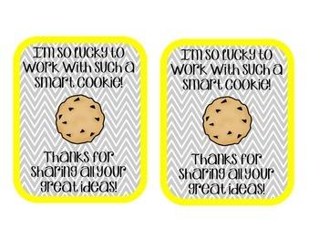 Teacher Appreciation Tags - Appreciate Each Other!