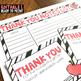 Teacher Appreciation Thank You cards - EDITABLE
