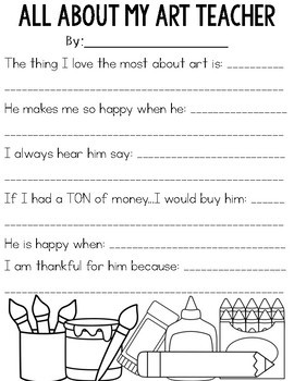 Teacher Appreciation: Thanking the Specials Teachers