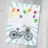 Teacher Appreciation Thumbprint Printable DIY Gift Mother's Day Gift