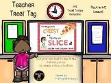 Teacher Appreciation Treat Tag - Pizza