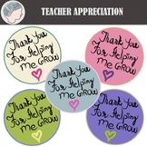 Teacher Appreciation Week 2018 (Freebie)