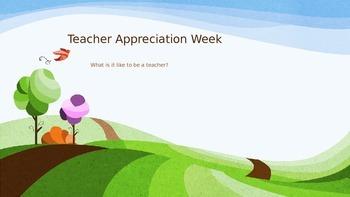 Teacher Appreciation Week Activity for Students