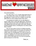 Teacher Appreciation Week Art and Math!