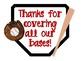 Teacher Appreciation Week Baseball Theme