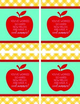 Teacher Appreciation Week Cards