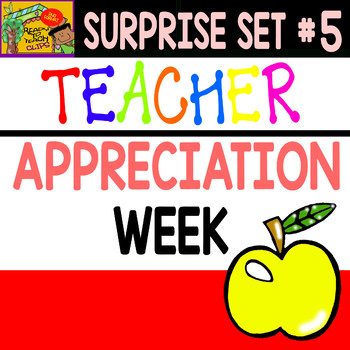 Teacher Appreciation Week - Clipart Set - Surprise #5