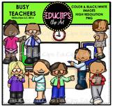 Teacher Appreciation Week - Busy Teachers Clip Art Bundle