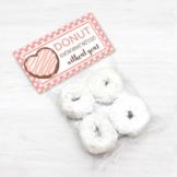 Teacher Appreciation Week Donut Bag Toppers, Donut Party Favor