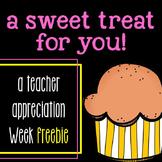 Teacher Appreciation Week Freebie!