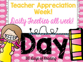 Teacher Appreciation Week Freebie: Day 1