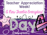 Teacher Appreciation Week Freebie: Day 4