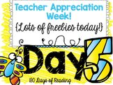 Teacher Appreciation Week Freebie: Day 5