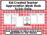 Teacher Appreciation Week Gift Book